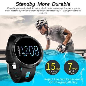 Image 4 - BINSSAW Sport Smart Watch Android Ios Fitness Tracker Blood Pressure Heart Rate Tracker Men Wristband Women Multi language Watch