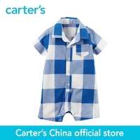 Carter's 1pcs baby children kids Buffalo Check Romper 118H022,sold by Carter's China official store