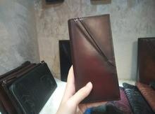 TERSE High Quality Handmade Leather Bag font b Men b font Long font b Wallet b