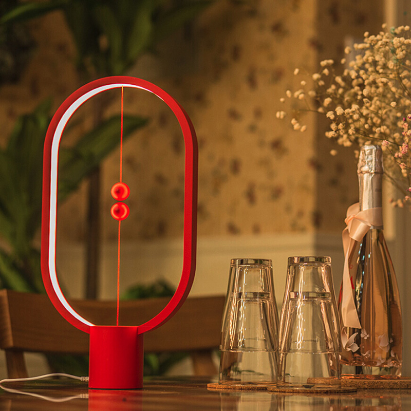 2019 New Led Light Heng Balance Lamp Indoor Table Night Light Decoration Eye Protection Study Light For Christmas