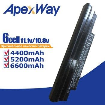 11.1V 6 komórek czarny akumulator do laptopa dla AcerAspire One 522 722 D255 D260 D270 E100 AOD255 AOD260 AL10A31 AL10B31 AL10G31|Akumulatory do laptopów|Komputer i biuro -