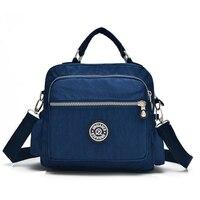 Новый Для женщин Курьерские Сумки Твердые Путешествия Водонепроницаемый клатч сумка нейлоновая сумка для женщин Crossbody сумки дамы Bolsa сумки