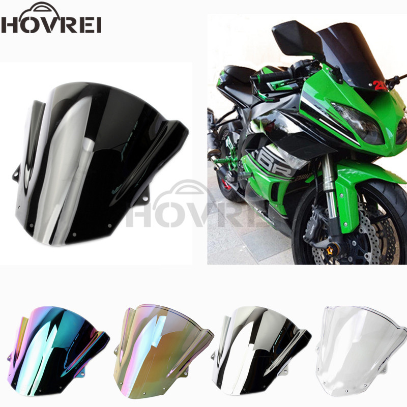 Surprising Us 20 46 7 Off Windshield Windscreen Double Bubble For Kawasaki Zx6R 2009 2010 2012 Zx10R 2008 2009 2010 Wind Deflectors Screen Zx 6R Zx 10R In Andrewgaddart Wooden Chair Designs For Living Room Andrewgaddartcom