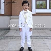 Children tuxedo boys suits wedding flower girl dress dress small host a piano performance clothing