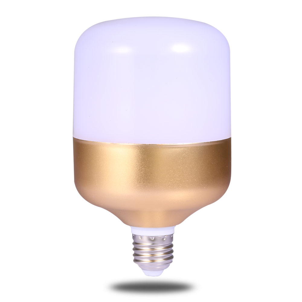 Led waterproof light bulb e27 screw mouth 10W 15W 20W 30W 40W home bright white light three anti-energy saving bulb