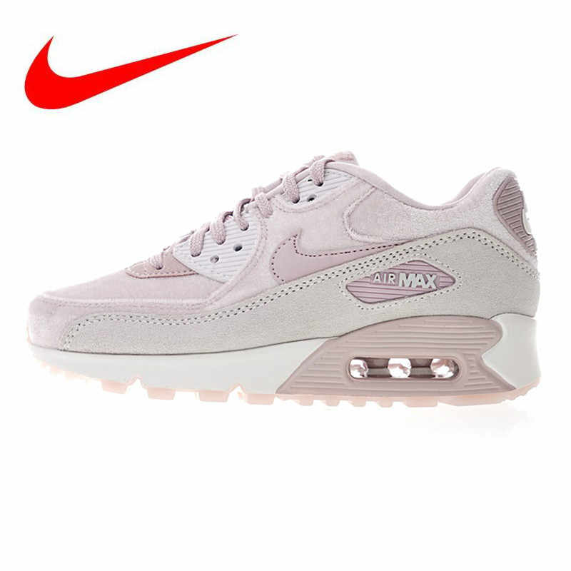 051c4f4f9a Nike Air Max 90 Women's Running Shoes, Grey, Non-slip Shock Absorbing  Breathable