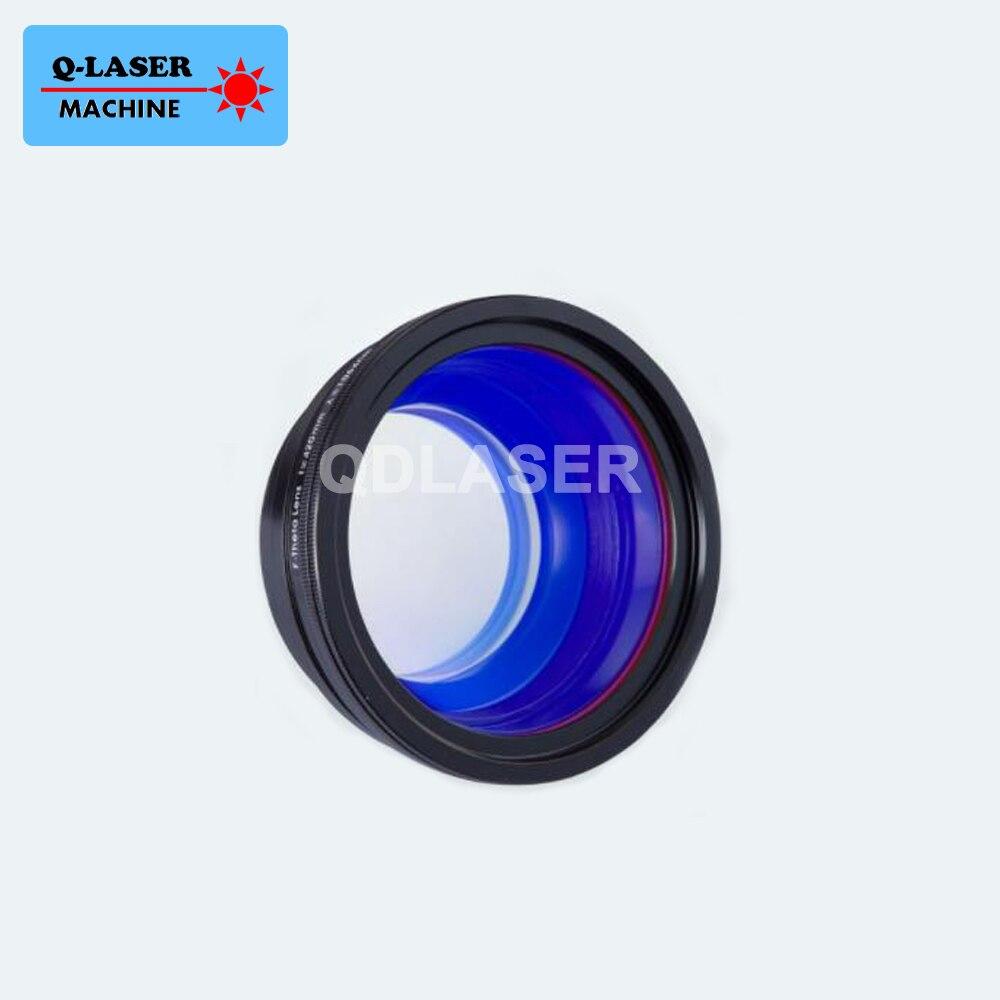 Lentille de balayage Laser de la Fiber f-theta 1064um pour la Machine de marquage Laser de Fiber de YAG