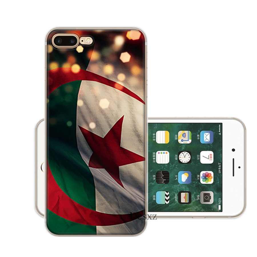 ธงแอลจีเรียสำหรับ iPhone 6 6S 7 8 Plus iPhone 11 Pro X XS Max XR 5 5s SE Shell