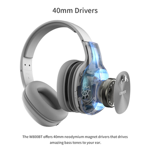 Image 4 - EDIFIER W800BT On ear headphones Wireless Bluetooth Headphones OLightweight comfort and up to 35 hours of Playback