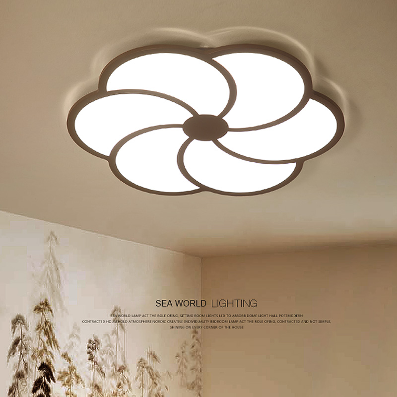 Modern LED ceiling lights living room ceiling lamps Novelty fixtures Acrylic illumination children's bedroom ceiling lighting купить недорого в Москве