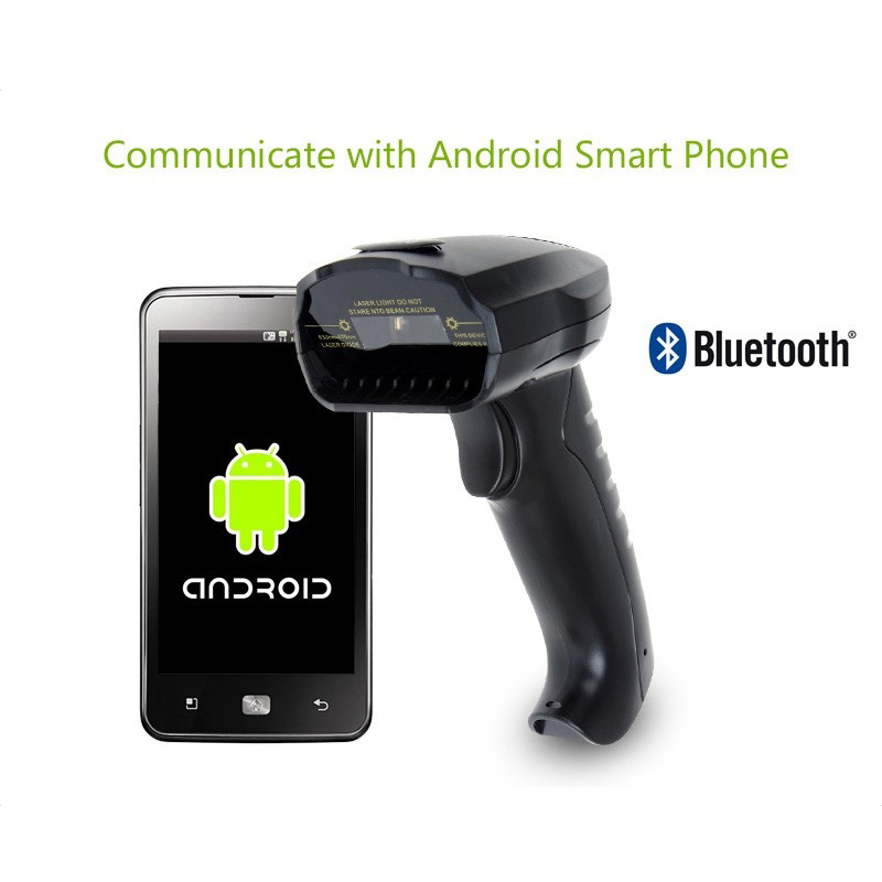 EYOYO Barcode Scanner Windows Wireless Bluetooth Android Portable 1D for IOS Reader-1d