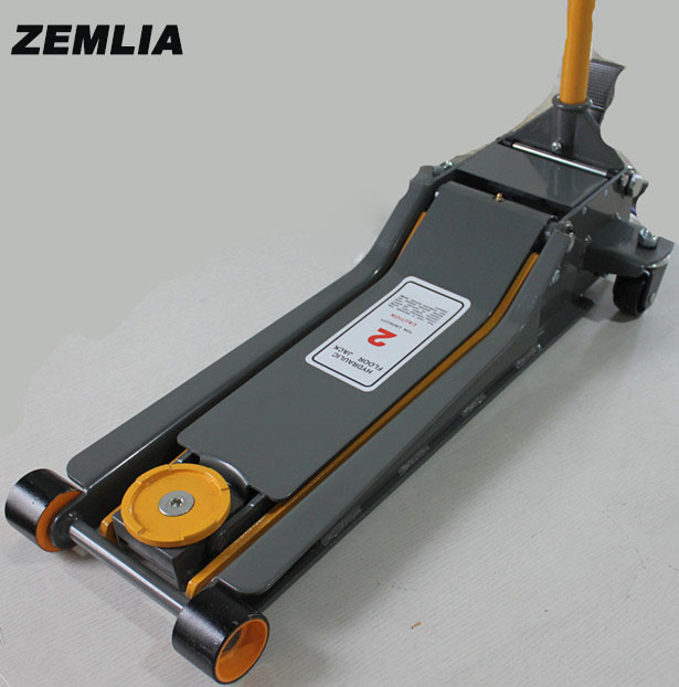 Hydraulic Jack Auto Repair Equipment 2 Ton Horizontal Jack Low Position