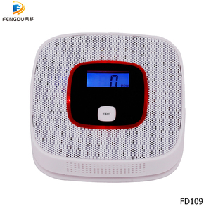 Image 4 - Wholesale Wall Mounted Independent Gas Leak Detector Kitchen Cooking Gas Detector CO Carbon Monoxide with LCD Display