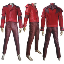 Guardians of the Galaxy Vol. 2 Peter Quill Star-Lord costume full set jacket pants t-shirt superhero halloween make-up costume