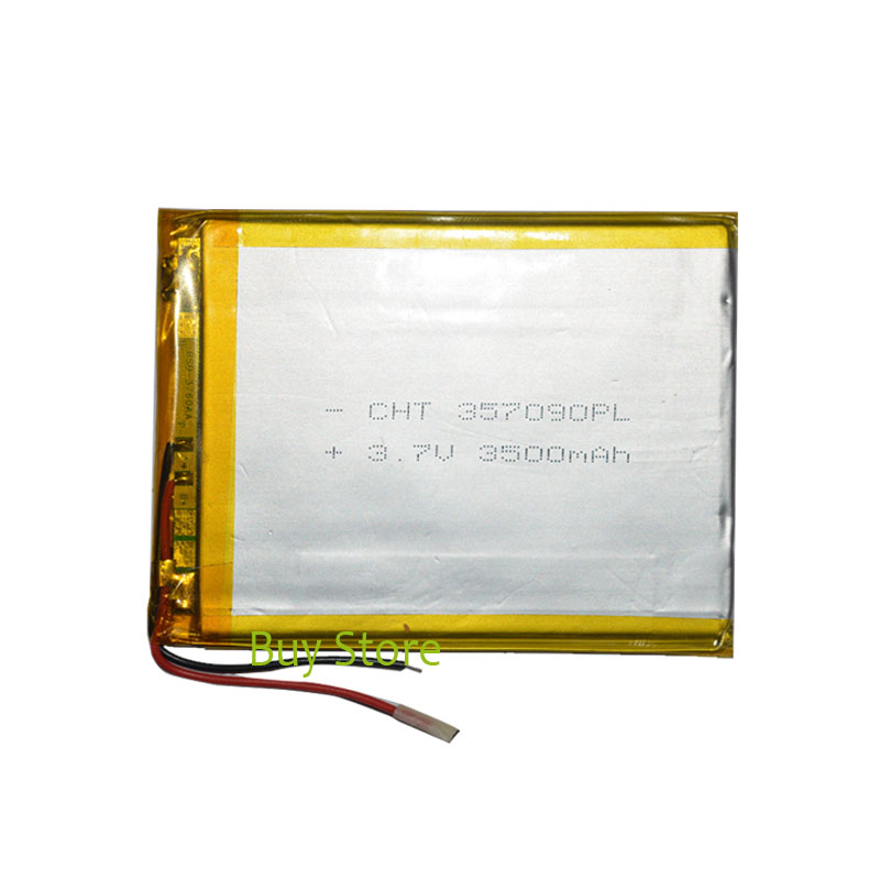 3500mAh 3.7V polymer lithium ion Battery Replacement Tablet Battery for Oysters T74 MAi 3G free shipping 3 7 v 5000 mah tablet battery brand tablet gm lithium polymer battery 3088128