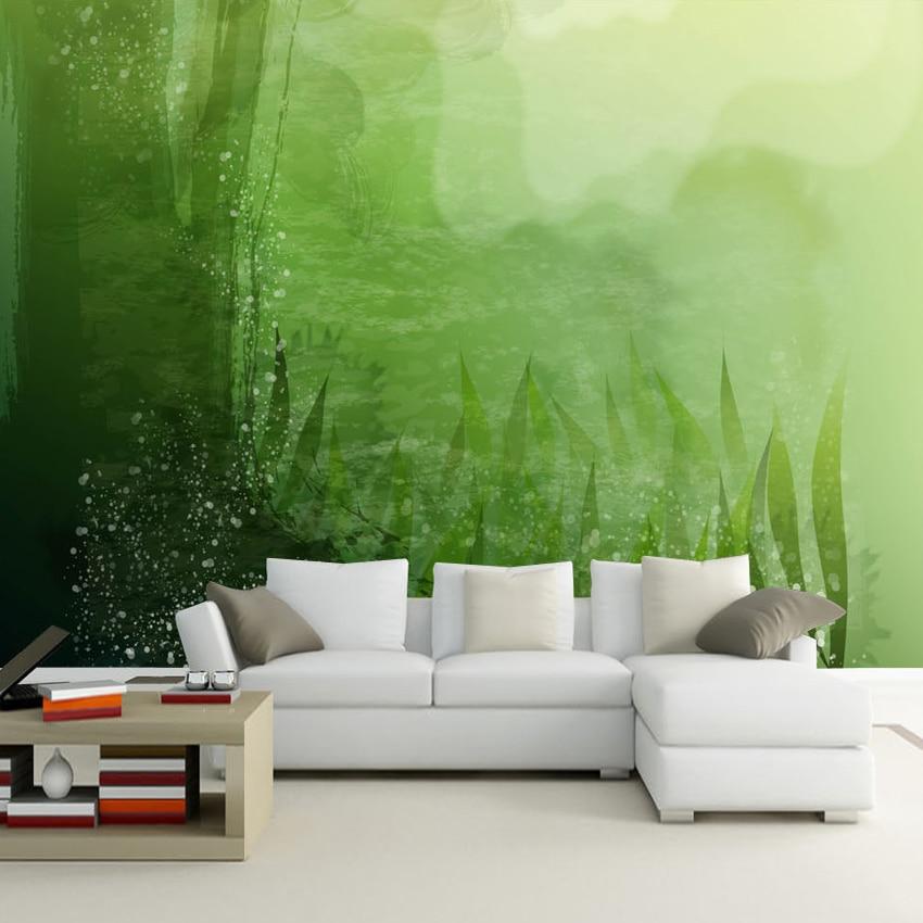 Exceptional Schlafzimmer Tapete Grun #11: Tapete Grün Grau Schönsten Einrichtungsideen