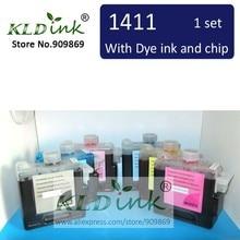 X6PCS BCI-1411 BCI1411 краски базы картридж с чернилами для W8400 W8200 W7200 широкоформатный принтер