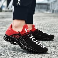 Bonjean 19 New Fashion Men Shoes Popular Soft Air Cushion Run Men Sneakers Unisex Blade Couple Footwear Plus Size Casual Shoes