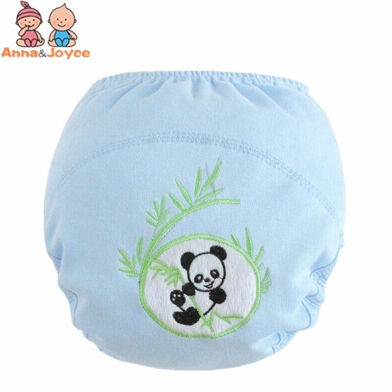 30 Pcs/lot Wholesale! Baby Washable Diapers/Children Reusable Underwear/100% Cotton Breathable Diaper Cover/Training Pants