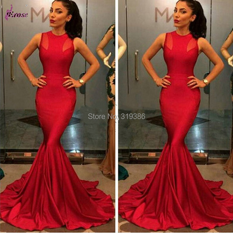 online buy wholesale red mermaid prom dresses from china