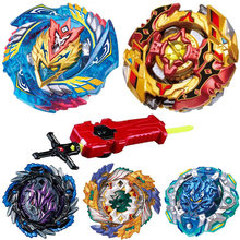 New Beyblade Burst Toys B-128 Bayblades Toupie Metal Fusion God Spinning Top Bey Blade Blades Toy bay blade bables(China)
