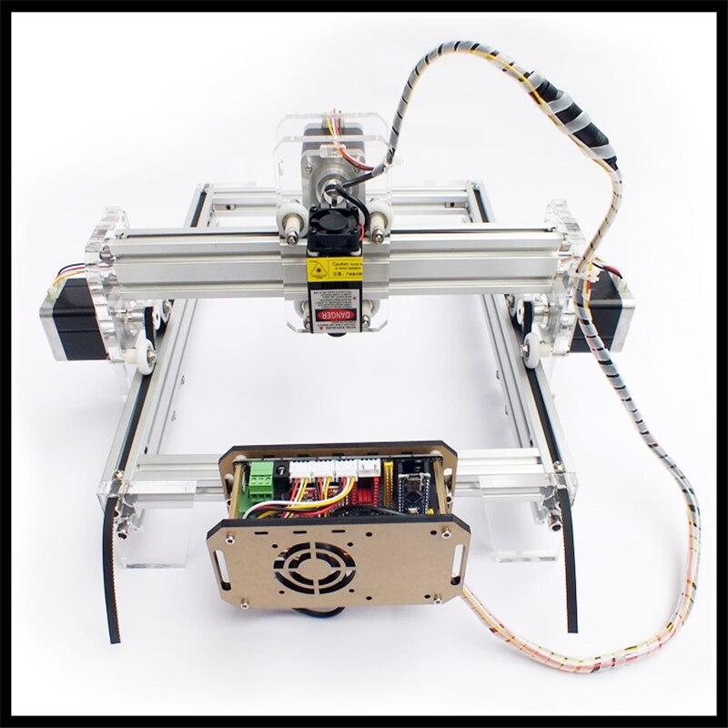 diy laser machine for teachine 1000mw laser engraving machine,diy laser cutting machine,working area 35*50cm,diy machine