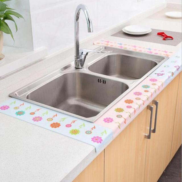 Diy Waist Line Wall Sticker Self Adhesive Waterproof Bathroom Toilet Kitchen Ceramic Tiles Stickers Wallpaper