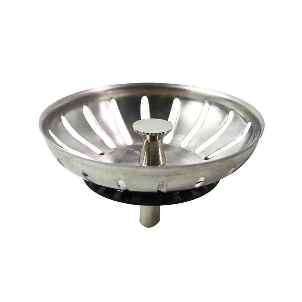 Talea 8.3 cm nueva alta calidad de acero inoxidable fregadero de la cocina goma colador residuos drenaje Tapones filtro Plomería