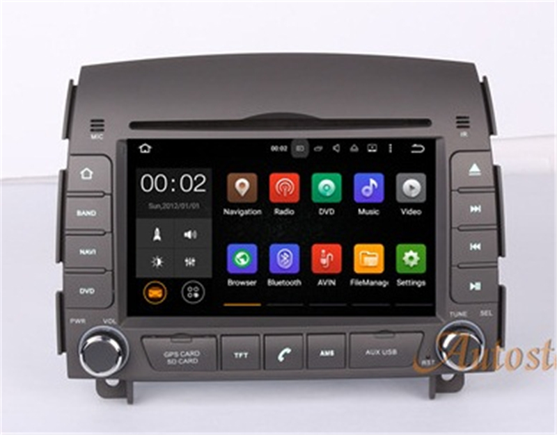 Android 9 Dsp Car Dvd Player Gps Navigation Radio Stereo For Hyundai Sonata Nf Yu Xiang 2004