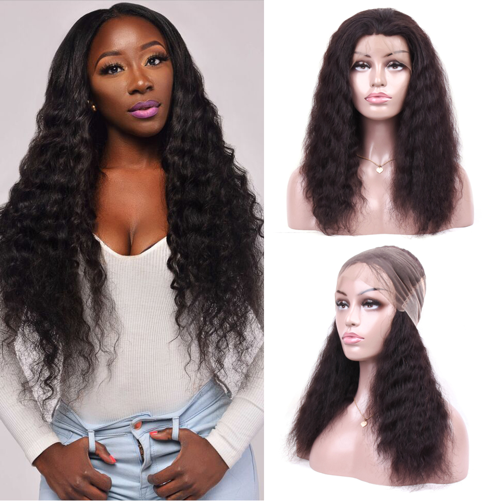 BEAUDIVA Brazilian Curly Human Hair Wigs For Charming Women Remy Hair - Beauty Supply - Photo 1
