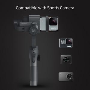 Image 2 - חדש Funsnap לכידת 2 שלוש ציר טלפון ידית Gimbal מייצב עבור Andriod IOS טלפונים חכמים Gopro 5/6/ 7 DJI אוסמו פעולה מצלמות
