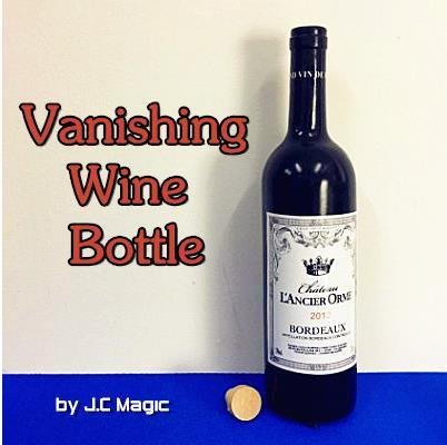 Vanishing Wine Bottle - magic trick,close up street bar stage magic prop gimmick,illusion,mentalism
