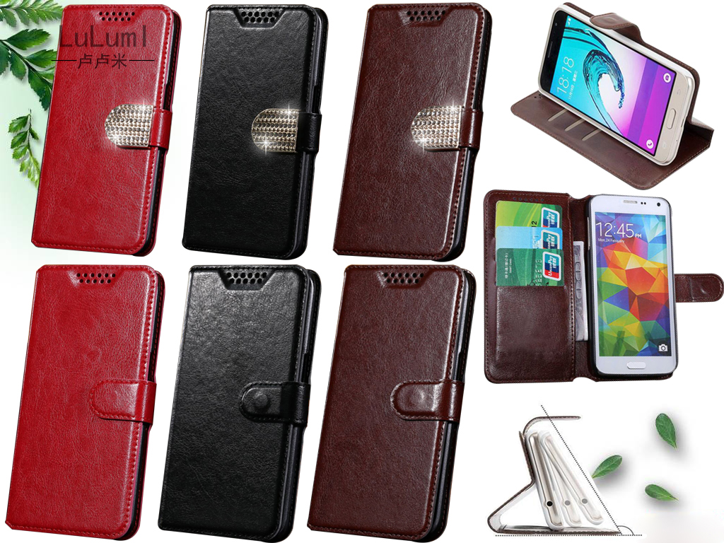 Luxury High-quality PU Leather Cover Case For Leagoo M5 Case Flip stand Wallet Protection phone For Leagoo M 5