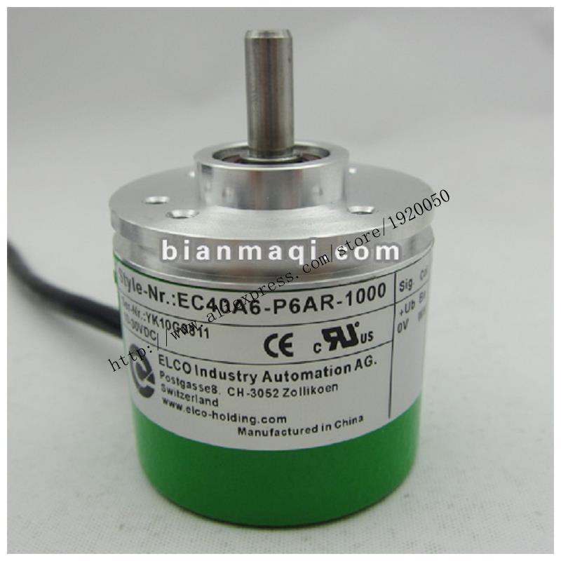 Supply Of  EC40A6-P6AR-1000 Elco ELCO 1000 Line Rotary Encoder
