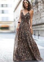 sexy dress plus size party dresses women black clothing woman night 2019 bohemian leopard summer pink girl vintage