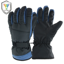 OZERO Winter Ski Gloves -30 Degree Warm Skiing Snowboard Snowmobile Sports Windproof Waterproof Unisex Snow For Mens Wom