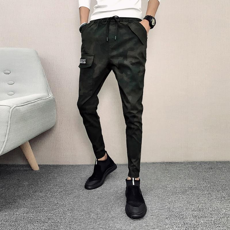Autumn New Arrival Pants Men Slim Fit Fashion Camouflage Print Harem Pants Hip Hop Streetwear All Match Casual Men's Trousers Latest Technology