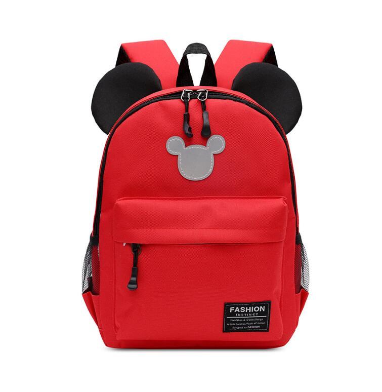 New Kids Bag Kindergarten Children Cartoon Mickey School Bags Minnie Backpack Princess Schoolbags Satchel For Boys Girls