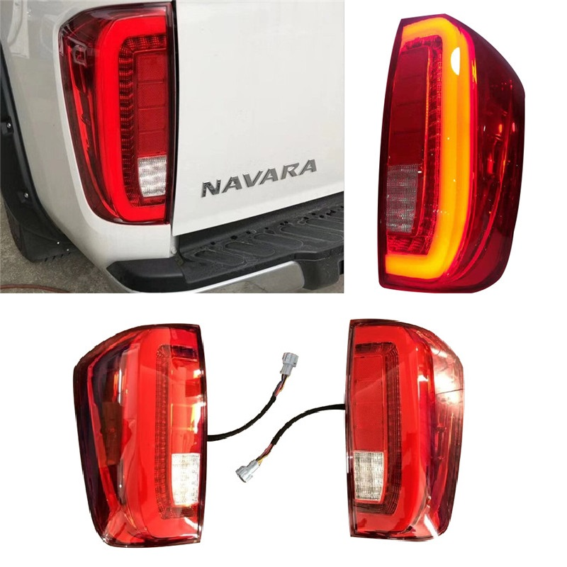 Set Pair LH+RH Tail Light Rear Lamp For Nissan Pathfinder D21 1988~1992