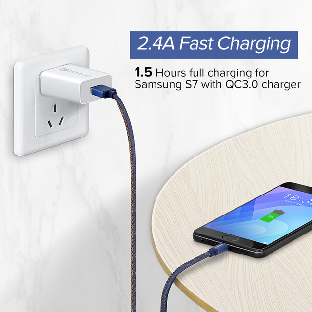 2.4 A Fast Charging Micro USB Cable