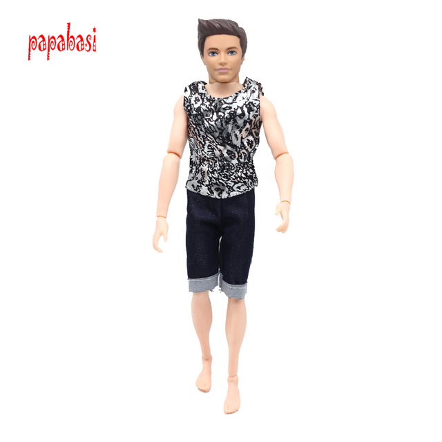de20fd02ebe45 Prens Ken oyuncak bebek giysileri moda elbise Serin Kıyafet Için 1/6 Bebek  Erkek arkadaşı