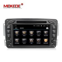 HD Android 8,1 автомобиль dvd мультимедийный плеер радио для Mercedes Benz W209 W203 W168 ML W163 W463 Viano W639 Vito gps навигации BT