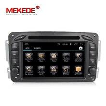 HD Android 8.1 lettore multimediale dvd Dell'automobile della radio Per Mercedes Benz W209 W203 W168 ML W163 W463 Viano W639 Vito di Navigazione GPS BT