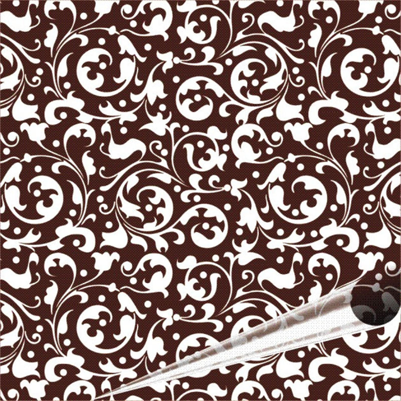 5 Pieces Fanny Chocolate Transfer Sheet 21*33cm