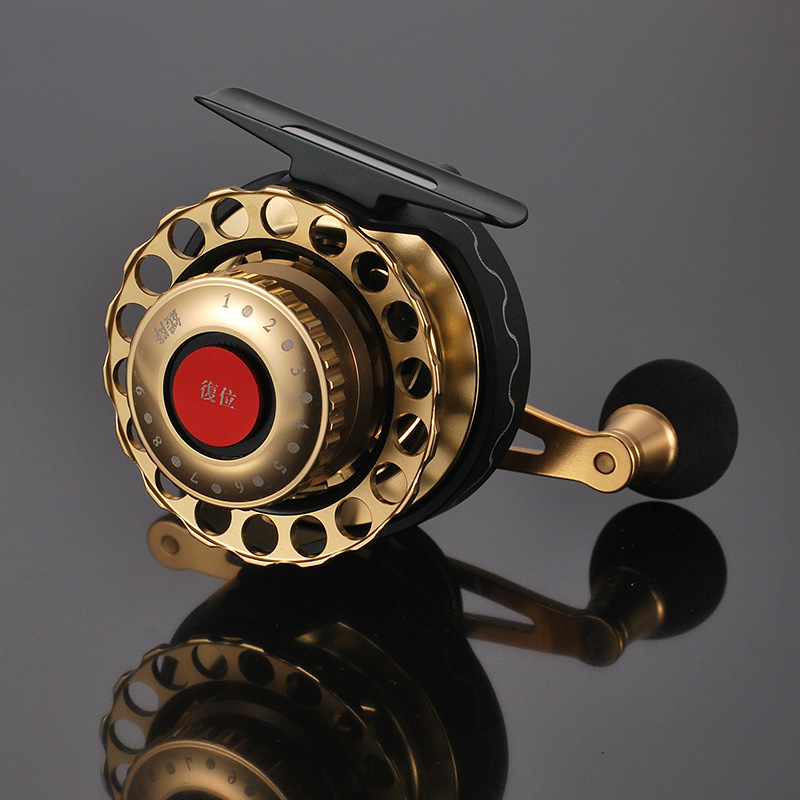 Full Metal Fly Fishing Reel 8 Bearing Durable Aluminum Alloy Material Fishing Reel 3 6 1