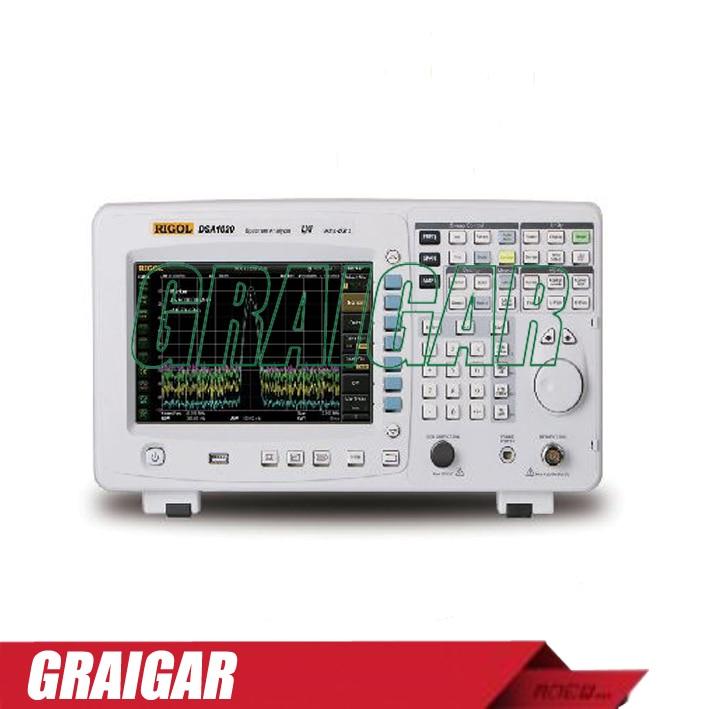 DSA1020 spectrum analyzer frequency domain 9kHz~2GHz RBW 100 Hz to 1 MHz