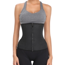 Hot Latex Waist Trainer Body Shaper Slimming Belt Shapewear Corset Women