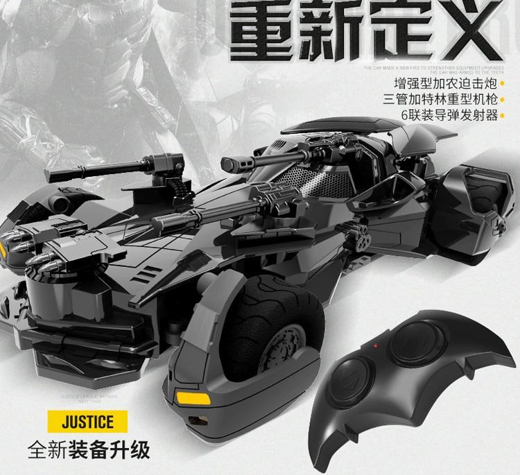 Batman Superman Justice League electric Batman RC car childrens toy model (17)