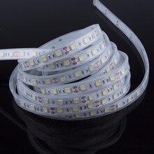 IP67/IP68 Водонепроницаемый светодиодный светильник 5050 DC12V 60 светодиодный/M Fita De светодиодный высококачественный силиконовый светильник на открытом воздухе/под водой Светодиодная лента
