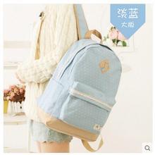 Большая емкость дикий Японский и Корейский версия прилива студентов Колледжа студенты мешок холст рюкзак